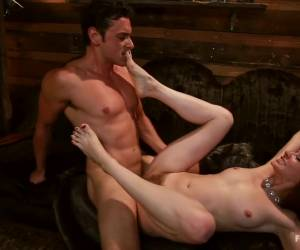 Incredible fetish adult scene with crazy pornstars Maitresse Madeline Marlowe and Ryan Driller from Footworship