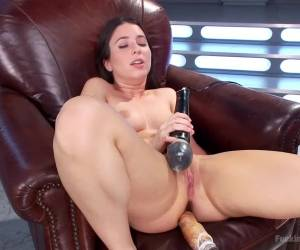 Crazy anal, fetish xxx scene with fabulous pornstar Serena Blair from Fuckingmachines