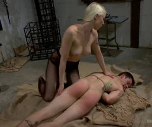 Divine Dungeon A new slave is trained