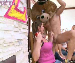 For blow cheerful sluts you have the strippers of the Dancing Bear