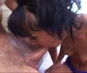 Two horny blow scenes